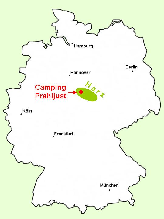 Camping Prahljust How To Find Us